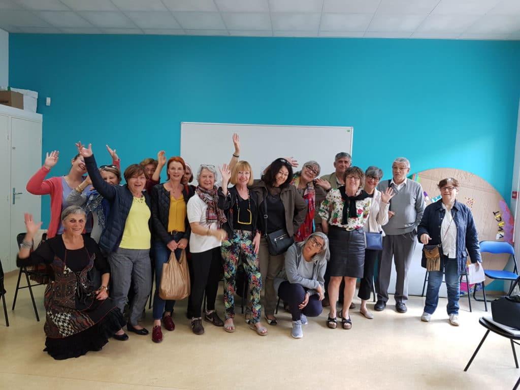 Les bénévoles, fer de lance du centre social Espace Famille, Croix d'Argent. 1